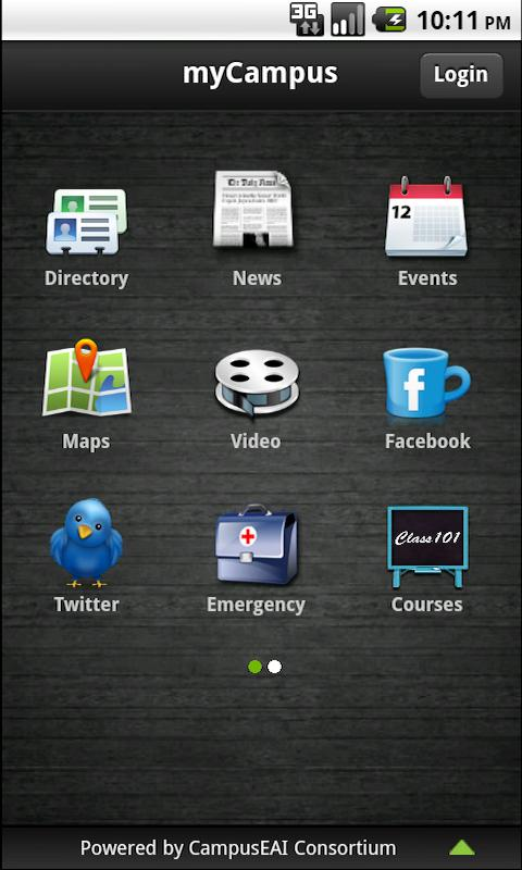 Mobile myCampus - screenshot
