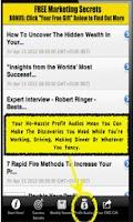 Screenshot of Marketing Secrets