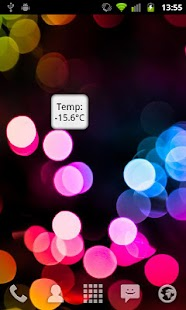 Marge Temperature Widget - screenshot thumbnail