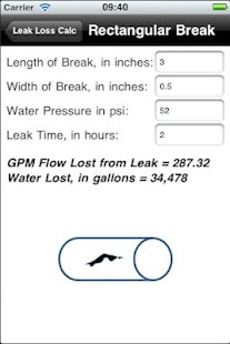 Leak Loss Calculation- screenshot thumbnail