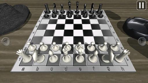 黑色电影西洋棋 3D