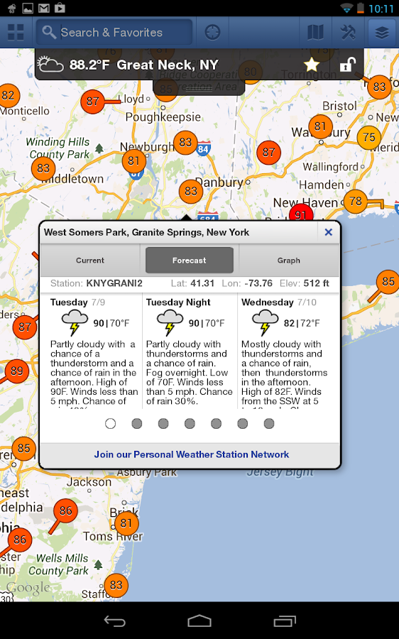 WunderMap - screenshot