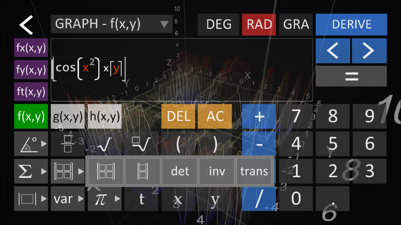 Visual math 4d lite android apps on google play for Floor calculator math