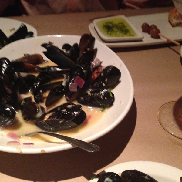 Love the mussels!