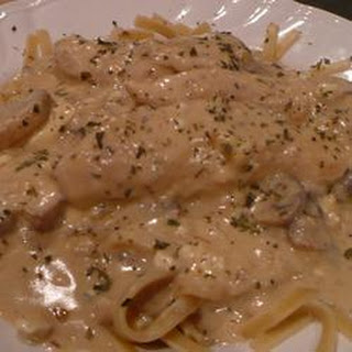 Fettuccine with Blue Cheese Sauce Recipe