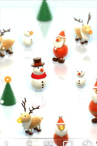 Mini Santa Live Wallpaper