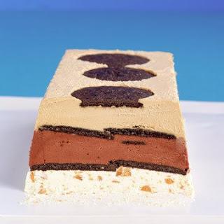 Frozen Mocha Toffee-Crunch Terrine