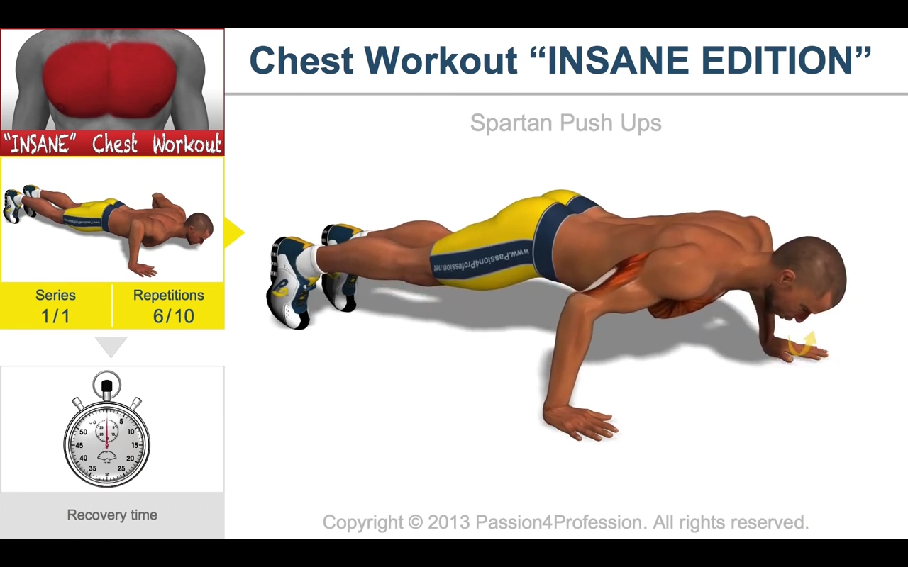 Chest Workout (Android) reviews at Android Quality Index