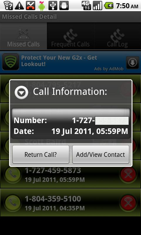 Missed Call II- screenshot