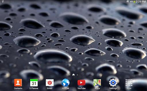 玩個人化App|Black Water 動態桌布免費|APP試玩
