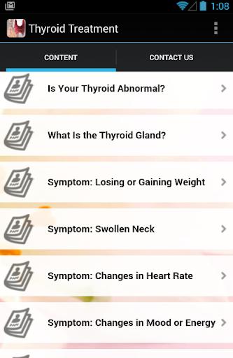 Thyroid Symptoms Treatment