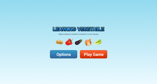 Learning Vegetables with Game