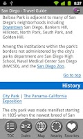 Screenshot of San Diego - FREE Travel Guide