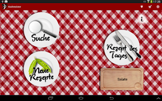 Screenshot of Kochmeister 60.000 Rezepte