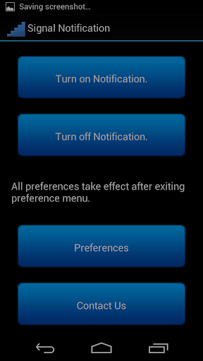 Signal Notification