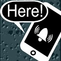 Smart phone searcher icon