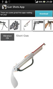 Gun Shots App - screenshot thumbnail