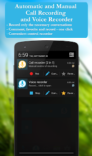 Call recorder: CallRec free- screenshot thumbnail