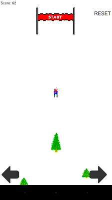 Crazy Ski Free - screenshot