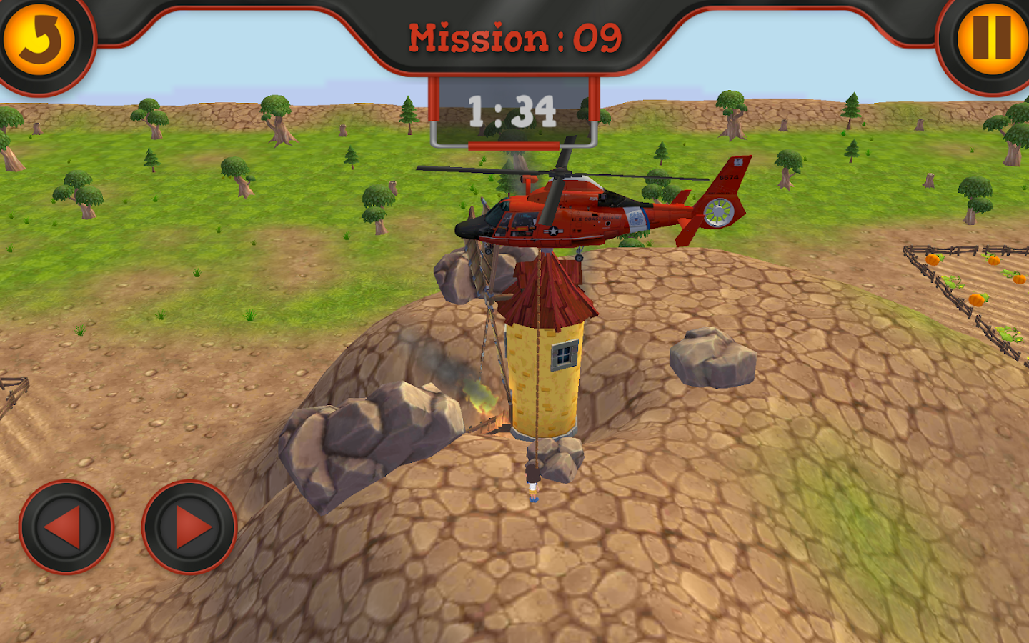 3d helicopter rescue mission game for kids free android apps