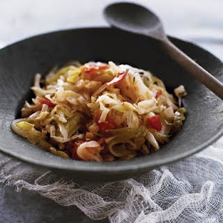 Shredded Sauteed Cabbage.