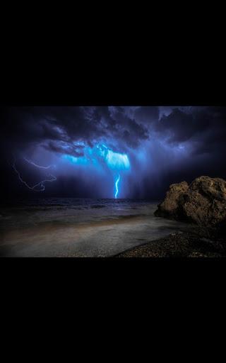 My Photo Wall Night Storm LWP