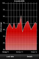 Screenshot of DartTrainer app