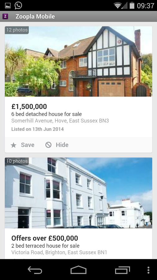 Zoopla - Property Search UK- screenshot