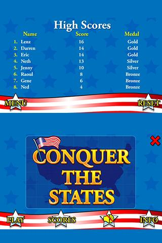 Conquer the States - screenshot