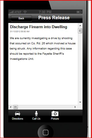 FCSO Investigations - screenshot