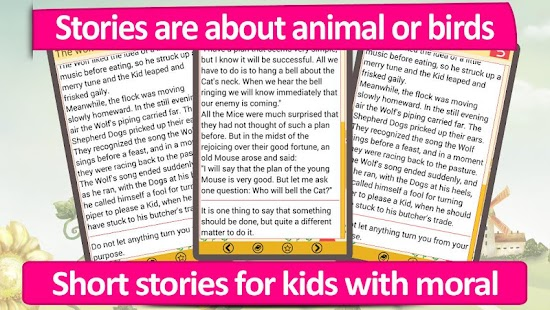 Aesops Fables stories for kids- screenshot thumbnail