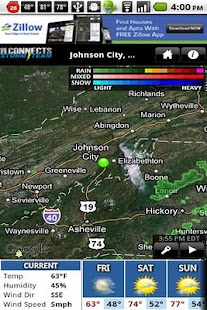 WJHL Radar - screenshot thumbnail