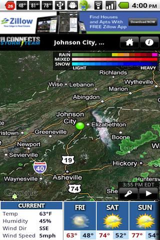 WJHL Radar - screenshot