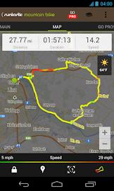 Runtastic Mountain Bike GPS Screenshot 5