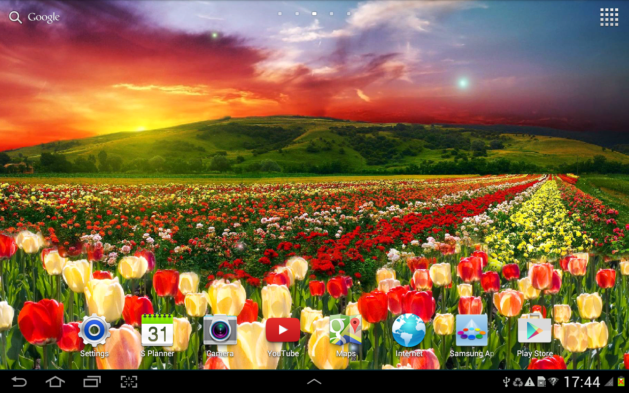 Wallpaper downloader app - Spring Nature Live Wallpaper Screenshot