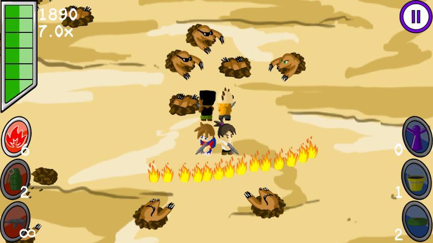 Mutant Mole Mayhem- screenshot