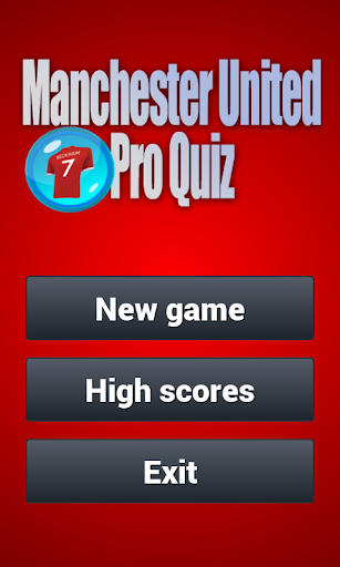 Manchester United Pro Quiz