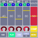 Cadeli drum machine free icon