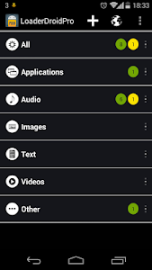 Loader Droid download manager v0.9.9.8