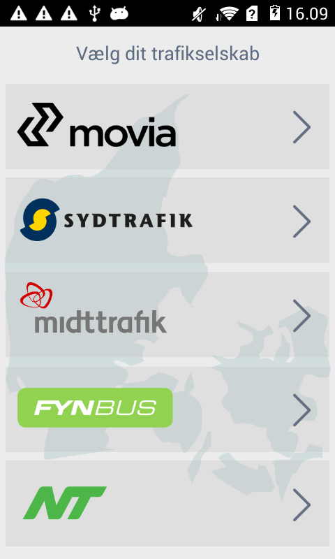 Flextrafik- screenshot