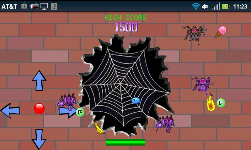 Arcade Spider Attack- screenshot