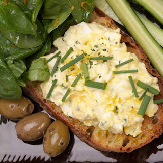 Light Egg Salad Sandwich