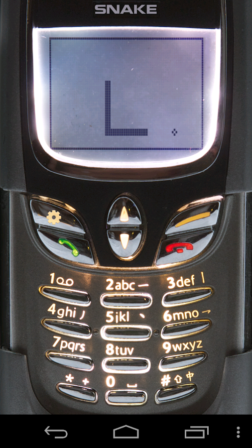 Snake '97: retro phone classic- screenshot