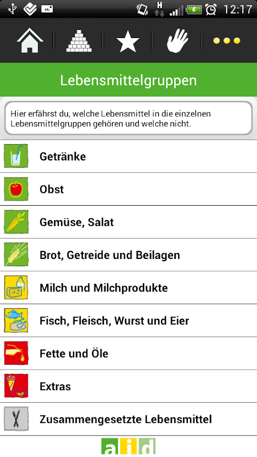 was ich esse android apps auf google play. Black Bedroom Furniture Sets. Home Design Ideas