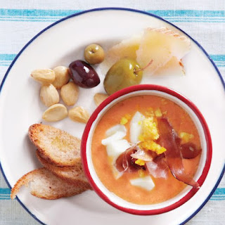 Chilled Spanish-Style Tomato Soup.