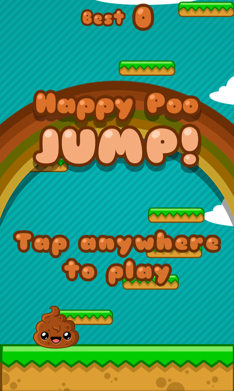 Happy Poo Jump- screenshot