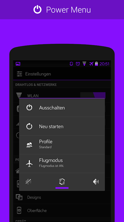 CM11/PA Theme - Purple- screenshot