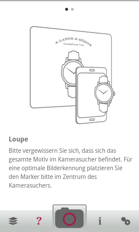 A. Lange & Söhne Loupe - screenshot