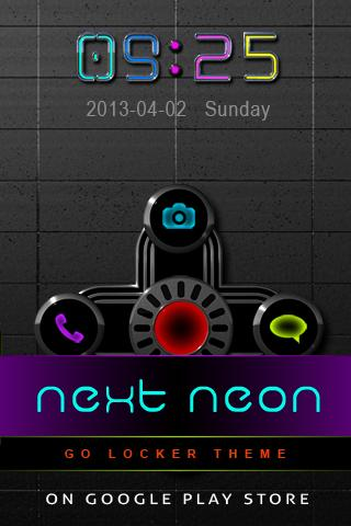 NEW NEON Digital Clock - screenshot