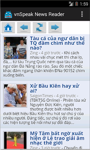 vnSpeak News Reader
